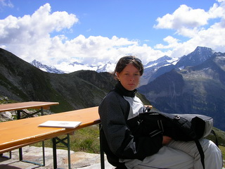 Monika, Hintertux, 2005